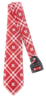 Nebraska Ns Plaid Rhodes Tie Nebraska Cornhuskers, Nebraska  Mens Accessories, Huskers  Mens Accessories, Nebraska  Mens , Huskers  Mens , Nebraska Nebraska Ns Plaid Rhodes Tie, Huskers Nebraska Ns Plaid Rhodes Tie