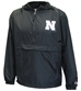 Nebraska Pack N Go Champion Quarter Zip Jacket - AW-B7042