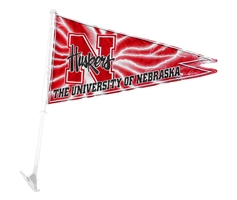 Nebraska Pennant Car Flag Nebraska Cornhuskers, Nebraska Vehicle, Huskers Vehicle, Nebraska  Flags & Windsocks, Huskers  Flags & Windsocks, Nebraska Nebraska Pennant Car Flag, Huskers Nebraska Pennant Car Flag