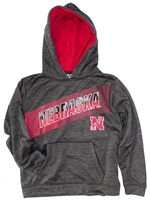 Nebraska Rising Pullover Hoodie Nebraska Cornhuskers, Nebraska  Youth, Huskers  Youth, Nebraska  Kids, Huskers  Kids, Nebraska Heather Black Inbounds Pullover Hoodie, Huskers Heather Black Inbounds Pullover Hoodie