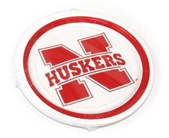 Nebraska Small Paper Plate Pack Nebraska Cornhuskers, Nebraska  Kitchen & Glassware, Huskers  Kitchen & Glassware, Nebraska  Game Room & Big Red Room, Huskers  Game Room & Big Red Room, Nebraska  Tailgating, Huskers  Tailgating, Nebraska  Summer Fun, Huskers  Summer Fun, Nebraska Nebraska Small Paper Plate Pack, Huskers Nebraska Small Paper Plate Pack