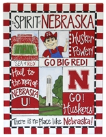 Nebraska Spirit Canvas Nebraska Cornhuskers, Nebraska  Office Den & Entry, Huskers  Office Den & Entry, Nebraska  Game Room & Big Red Room, Huskers  Game Room & Big Red Room, Nebraska  Bedroom & Bathroom, Huskers  Bedroom & Bathroom, Nebraska Nebraska Spirit Canvas, Huskers Nebraska Spirit Canvas