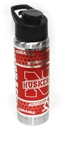 Nebraska Stainless Steel Water bottle Nebraska Cornhuskers, Nebraska  Tailgating, Huskers  Tailgating, Nebraska Vehicle, Huskers Vehicle, Nebraska Nebraska Stainless Steel Water bottle , Huskers Nebraska Stainless Steel Water bottle