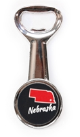Nebraska State Bottle Opener Magnet Black Nebraska Cornhuskers, Nebraska  Tailgating, Huskers  Tailgating, Nebraska  Kitchen & Glassware, Huskers  Kitchen & Glassware, Nebraska  Game Room & Big Red Room, Huskers  Game Room & Big Red Room, Nebraska Giant Bottle Cap Bottle Opener/ Magnet, Huskers Giant Bottle Cap Bottle Opener/ Magnet, Nebraska State Bottle Opener Magnet Black