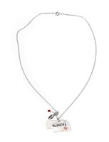 Nebraska State Huskers Heart Charm Necklace Nebraska Cornhuskers, Nebraska  Ladies Accessories, Huskers  Ladies Accessories, Nebraska  Jewelry & Hair, Huskers  Jewelry & Hair, Nebraska Nebraska State Huskers Heart Charm Necklace , Huskers Nebraska State Huskers Heart Charm Necklace