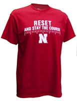 Nebraska Stay The Course Tee Nebraska Cornhuskers, Nebraska  Mens T-Shirts, Huskers  Mens T-Shirts, Nebraska  Mens, Huskers  Mens, Nebraska  Short Sleeve, Huskers  Short Sleeve, Nebraska Nebraska Stay The Course Tee, Huskers Nebraska Stay The Course Tee