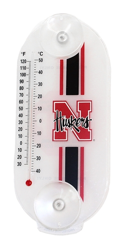 Nebraska Suction Thermometer Nebraska Cornhuskers, Nebraska  Patio, Lawn & Garden, Huskers  Patio, Lawn & Garden, Nebraska Nebraska Suction Thermometer, Huskers Nebraska Suction Thermometer