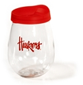Nebraska Tailgater Wine Glass N Lid Nebraska Cornhuskers, Nebraska  Kitchen & Glassware, Huskers  Kitchen & Glassware, Nebraska  Game Room & Big Red Room, Huskers  Game Room & Big Red Room, Nebraska  Tailgating, Huskers  Tailgating, Nebraska Nebraska Tailgater Wine Glass N Lid, Huskers Nebraska Tailgater Wine Glass N Lid