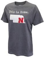 Nebraska - This Is Home N Tee Nebraska Cornhuskers, Nebraska  Mens, Huskers  Mens, Nebraska  Mens T-Shirts, Huskers  Mens T-Shirts, Nebraska  Short Sleeve, Huskers  Short Sleeve, Nebraska Nebraska - This Is Home N Tee, Huskers Nebraska - This Is Home N Tee