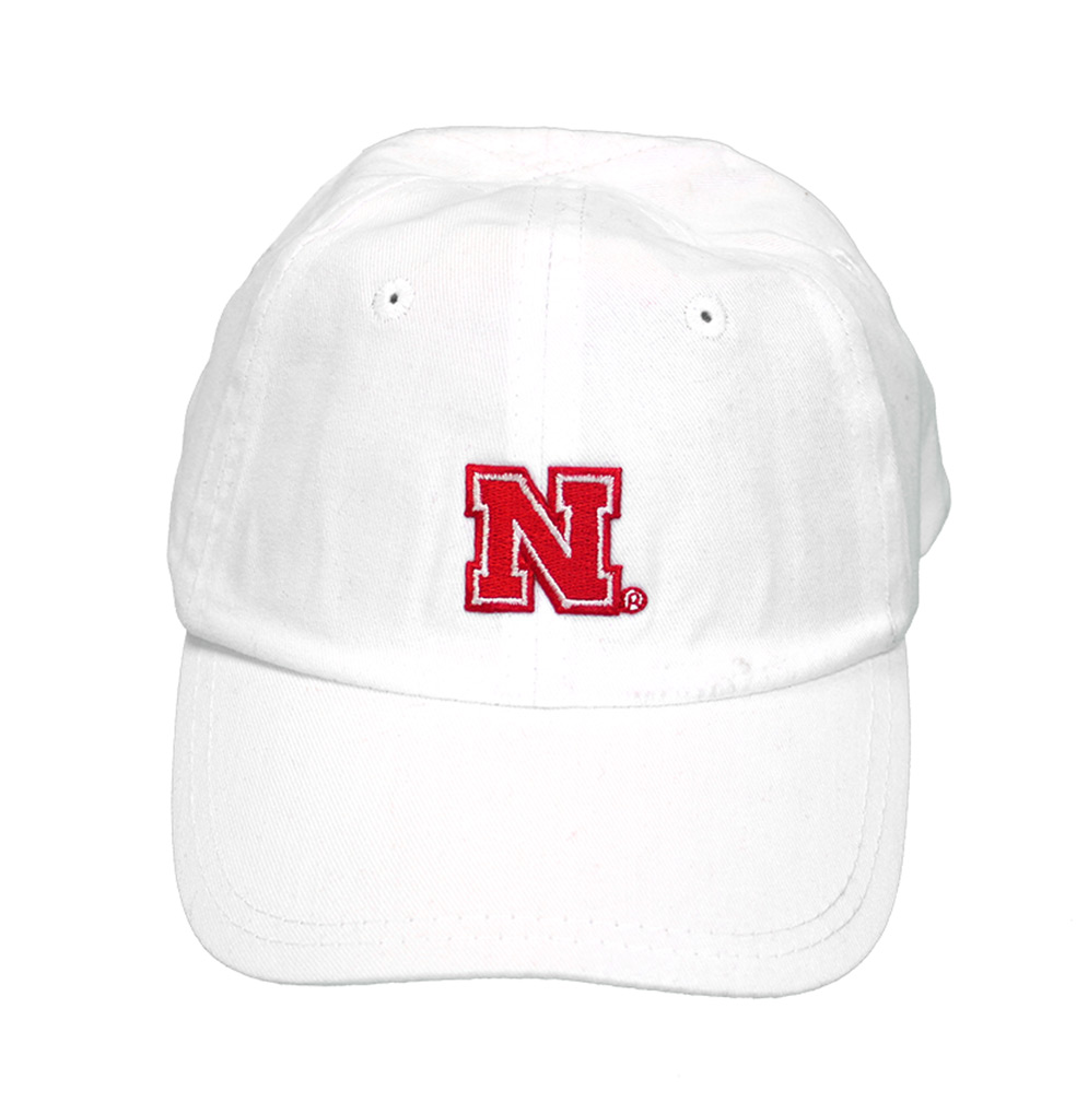 Nebraska Toddle Ball Cap - White 65618f8f19a0