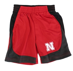 Nebraska Toddler Short Nebraska Cornhuskers, Nebraska  Childrens, Huskers  Childrens, Nebraska Toddler Short Colorblock Col, Huskers Toddler Short Colorblock Col