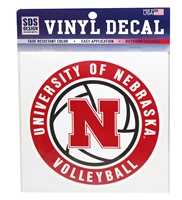 Nebraska Volleyball Decal Nebraska Cornhuskers, Nebraska Vehicle, Huskers Vehicle, Nebraska Stickers Decals & Magnets, Huskers Stickers Decals & Magnets, Nebraska Volleyball, Huskers Volleyball, Nebraska Nebraska Volleyball Decal, Huskers Nebraska Volleyball Decal