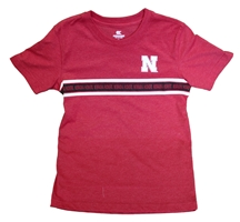 Nebraska Youth Danny Stripe Tee Nebraska Cornhuskers, Nebraska  Youth, Huskers  Youth, Nebraska  Kids, Huskers  Kids, Nebraska Nebraska Youth Danny Stripe Tee, Huskers Nebraska Youth Danny Stripe Tee