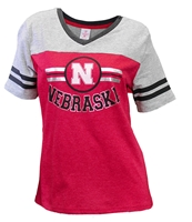 Nebraska Youth Girls Stripe Jersey Tee Nebraska Cornhuskers, Nebraska  Youth, Huskers  Youth, Nebraska  Kids, Huskers  Kids, Nebraska Nebraska Youth Girls Stripe Jersey Tee, Huskers Nebraska Youth Girls Stripe Jersey Tee