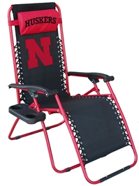 Nebraska Zero Gravity Chair Nebraska Cornhuskers, Nebraska  Patio, Lawn & Garden, Huskers  Patio, Lawn & Garden, Nebraska  Novelty, Huskers  Novelty, Nebraska Nebraska Zero Gravity Chair, Huskers Nebraska Zero Gravity Chair