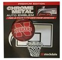 Nebrasketball Auto Emblem Nebraska Cornhuskers, Nebraska  Tailgating, Huskers  Tailgating, Nebraska Vehicle, Huskers Vehicle, Nebraska  Basketball, Huskers  Basketball, Nebraska Stickers Decals & Magnets, Huskers Stickers Decals & Magnets, Nebraska Nebrasketball Auto Emblem, Huskers Nebrasketball Auto Emblem