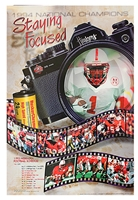 Official 1995 NU Football Schedule Poster Nebraska Cornhuskers, Nebraska One of a Kind, Huskers One of a Kind, Nebraska Books & Calendars, Huskers Books & Calendars, Nebraska NU vs KSU 1978 Basketball Program, Huskers NU vs KSU 1978 Basketball Program