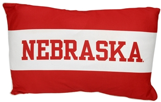 One Stripe Nebraska Lounger Pillow Nebraska Cornhuskers, Nebraska  Tailgating, Huskers  Tailgating, Nebraska  Bedroom & Bathroom, Huskers  Bedroom & Bathroom, Nebraska  Comfy Stuff, Huskers  Comfy Stuff, Nebraska  Game Room & Big Red Room, Huskers  Game Room & Big Red Room, Nebraska  Office Den & Entry, Huskers  Office Den & Entry, Nebraska One Stripe Nebraska Pillow-League, Huskers One Stripe Nebraska Pillow-League