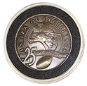 Original Tom Osborne 25th Season Commemorative Coin Nebraska Cornhuskers, 2006 Volleyball National Championship Coin