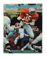 Osborne Autographed Iconic 1978 Sports Illustrated Nebraska Cornhuskers, Osborne Autographed Iconic 1978 Sports Illustrated