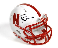 Tom Osborne Autographed Mini Helmet Nebraska Cornhuskers, husker football, nebraska cornhuskers merchandise, husker merchandise, nebraska merchandise, husker memorabilia, husker autographed, nebraska cornhuskers autographed, Tom Osborne autographed, Tom Osborne signed, Tom Osborne collectible, Tom Osborne, nebraska cornhuskers memorabilia, nebraska cornhuskers collectible, Osborne Signed Mini Helmet