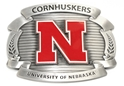 Oversized Husker Belt Buckle Nebraska Cornhuskers, Nebraska  Watches Bands & Buckles, Huskers  Watches Bands & Buckles, Nebraska  Ladies, Huskers  Ladies, Nebraska  Mens, Huskers  Mens, Nebraska  Mens Accessories, Huskers  Mens Accessories, Nebraska  Ladies Accessories, Huskers  Ladies Accessories, Nebraska Oversized Husker Belt Buckle, Huskers Oversized Husker Belt Buckle