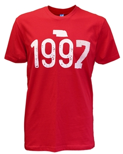 Party Like It's 1997 Tee Nebraska Cornhuskers, Nebraska  Mens T-Shirts, Huskers  Mens T-Shirts, Nebraska  Mens, Huskers  Mens, Nebraska  Short Sleeve , Huskers  Short Sleeve , Nebraska Red Frost Football Tee Blu84, Huskers Red Frost Football Tee Blu84