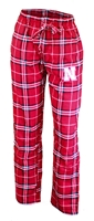 Plaid Mens Husker Huddle Sleep Pant Nebraska Cornhuskers, Nebraska  Mens Underwear & PJs, Huskers  Mens Underwear & PJs, Nebraska Plaid Mens Huddle Sleep Pant, Huskers Plaid Mens Huddle Sleep Pant