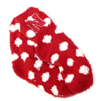 Polka Dot Fuzzy Nebraska Socks Nebraska Cornhuskers, Nebraska  Ladies Underwear & PJs, Huskers  Ladies Underwear & PJs, Nebraska  Ladies Accessories, Huskers  Ladies Accessories, Nebraska  Footwear, Huskers  Footwear, Nebraska Polka Dot Fuzzy Nebraska Socks, Huskers Polka Dot Fuzzy Nebraska Socks