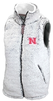 Nebraska Zip Up Poodle Vest Nebraska Cornhuskers, Nebraska  Ladies Sweatshirts, Huskers  Ladies Sweatshirts, Nebraska  Ladies, Huskers  Ladies, Nebraska  Ladies Outerwear, Huskers  Ladies Outerwear, Nebraska  Ladies, Huskers  Ladies, Nebraska Poodle W Zip Up Vest PB, Huskers Poodle W Zip Up Vest PB