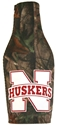 Real Tree Camo Bottle Suit Nebraska Cornhuskers, Real Tree Camo Bottle Koozie