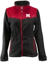 Red/ Black Contrast Womens Husker Jacket Nebraska Cornhuskers, Nebraska  Ladies Outerwear, Huskers  Ladies Outerwear, Nebraska  Ladies, Huskers  Ladies, Nebraska Red/ Black Contrast Womens Husker Jacket, Huskers Red/ Black Contrast Womens Husker Jacket