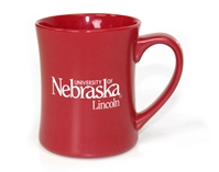 U of N Etched Mug Nebraska Cornhuskers, Nebraska  Kitchen & Glassware, Huskers  Kitchen & Glassware, Nebraska Red Etched Mug, Huskers Red Etched Mug