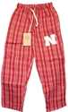 Red Flannel Pj Pant Nebraska Cornhuskers, Nebraska Shorts & Pants, Huskers Shorts & Pants, Nebraska  Youth , Huskers  Youth , Nebraska Red Flannel Pj Pant, Huskers Red Flannel Pj Pant
