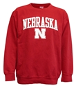 Red Fleece Arch Crew Nebraska Nebraska Cornhuskers, Nebraska  Crew, Huskers  Crew, Nebraska  Ladies, Huskers  Ladies, Nebraska  Ladies Sweatshirts, Huskers  Ladies Sweatshirts, Nebraska Fleece Arch Crew Nebraska, Huskers Fleece Arch Crew Nebraska