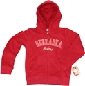 Red Full Zip Polar Fleece Hoodie Nebraska Cornhuskers, Nebraska  Youth, Huskers  Youth, Nebraska  Kids, Huskers  Kids, Nebraska  Zippered, Huskers  Zippered, Nebraska  Hoodies, Huskers  Hoodies, Nebraska Red Full Zip Polar Fleece Hoodie, Huskers Red Full Zip Polar Fleece Hoodie