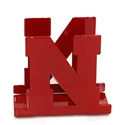 Red Iron N Napkin Holder Nebraska Cornhuskers, Nebraska  Game Room & Big Red Room, Huskers  Game Room & Big Red Room, Nebraska  Holiday Items, Huskers  Holiday Items, Nebraska  Kitchen & Glassware, Huskers  Kitchen & Glassware, Nebraska Red Iron N Napkin Holder, Huskers Red Iron N Napkin Holder