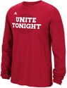Red L/S Unite Tonight Volleyball Tee Nebraska Cornhuskers, Nebraska  Ladies, Huskers  Ladies, Nebraska  Long Sleeve, Huskers  Long Sleeve, Nebraska  Ladies T-Shirts, Huskers  Ladies T-Shirts, Nebraska  Mens T-Shirts, Huskers  Mens T-Shirts, Nebraska  Mens, Huskers  Mens, Nebraska Red L/S Unite Tonight Vball Tee, Huskers Red L/S Unite Tonight Vball Tee
