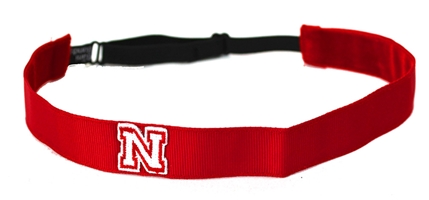 Red N logo No Slip Headband Nebraska Cornhuskers, Nebraska  Ladies, Huskers  Ladies, Nebraska  Ladies Accessories, Huskers  Ladies Accessories, Nebraska  Jewelry & Hair, Huskers  Jewelry & Hair, Nebraska Red N logo No Slip Headband, Huskers Red N logo No Slip Headband