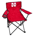 Red Nebraska Quad Chair Nebraska Cornhuskers, Nebraska Tailgate, Huskers  Game Room & Big Red Room, Gametime Chair, Huskers Gametime Chair