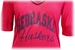 Red W Beaded Vneck Half Sleeve GDC - AT-A3276