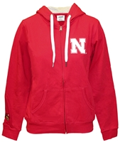 Nebraska Gals Full Zip Bling Hoody Nebraska Cornhuskers, Nebraska  Ladies Sweatshirts, Huskers  Ladies Sweatshirts, Nebraska  Ladies, Huskers  Ladies, Nebraska Red W Full Zip Hoodie E5, Huskers Red W Full Zip Hoodie E5