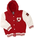 Red/White Toddler Varsity Jacket Nebraska Cornhuskers, Nebraska  Childrens, Huskers  Childrens, Nebraska  Kids, Huskers  Kids, Nebraska  Hoodies, Huskers  Hoodies, Nebraska  Kids, Huskers  Kids, Nebraska Red/White Toddler Varsity Jacket, Huskers Red/White Toddler Varsity Jacket