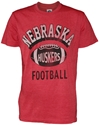 Retro Red Heather Nebraska Huskers Football Tee Nebraska Cornhuskers, Nebraska  Mens T-Shirts, Huskers  Mens T-Shirts, Nebraska  Mens, Huskers  Mens, Nebraska  Short Sleeve , Huskers  Short Sleeve , Nebraska Retro Red Heather Nebraska Huskers Football Tee, Huskers Retro Red Heather Nebraska Huskers Football Tee