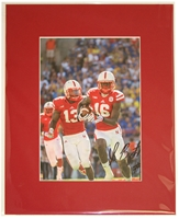 Stanley Jean Baptiste Signed Matted Print Nebraska Cornhuskers, Nebraska One of a Kind, Huskers One of a Kind, Nebraska  Former Players, Huskers  Former Players, Nebraska  Photos Prints & Posters, Huskers  Photos Prints & Posters, Nebraska Stanley Jean Baptiste Signed Matted Print, Huskers Stanley Jean Baptiste Signed Matted Print