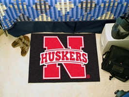 N Huskers Foot Rug Nebraska Cornhuskers, Nebraska  Game Room & Big Red Room, Huskers  Game Room & Big Red Room, Nebraska  Office Den & Entry, Huskers  Office Den & Entry, Nebraska  Bedroom & Bathroom, Huskers  Bedroom & Bathroom, Nebraska Starter, Huskers Starter