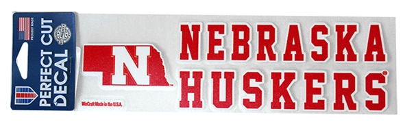 State Nebraska Huskers Decal Nebraska Cornhuskers, Nebraska Stickers Decals & Magnets, Huskers Stickers Decals & Magnets, Nebraska State Nebraska Huskers Decal , Huskers State Nebraska Huskers Decal