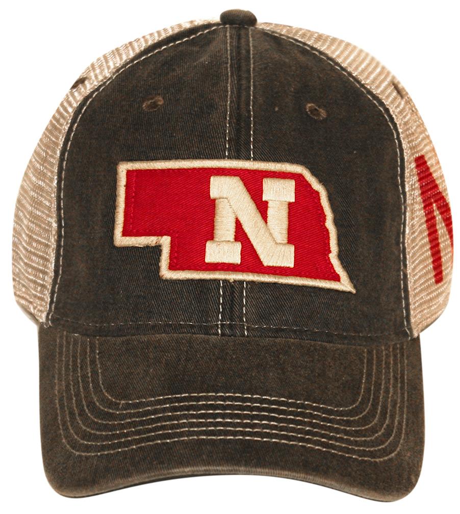 acd6314731d State Of Nebraska Mesh Back Hat - HT-96912 ...