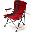 Striped Huskers Sideline Chair Nebraska Cornhuskers, Nebraska  Tailgating, Huskers  Tailgating, Nebraska  Patio, Lawn & Garden, Huskers  Patio, Lawn & Garden, Nebraska Striped Huskers Sideline Chair, Huskers Striped Huskers Sideline Chair