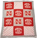 Fleece Husker Quilt Blanket Nebraska Cornhuskers, Nebraska  Tailgating, Huskers  Tailgating, Nebraska  Bedroom & Bathroom, Huskers  Bedroom & Bathroom, Nebraska  Comfy Stuff, Huskers  Comfy Stuff, Nebraska  Game Room & Big Red Room, Huskers  Game Room & Big Red Room, Nebraska  Office Den & Entry, Huskers  Office Den & Entry, Nebraska T-Shirt Style Husker Blanket League, Huskers T-Shirt Style Husker Blanket League